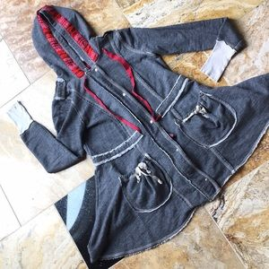 Scrapbook hoodie sweatshirt boho gypsy festival